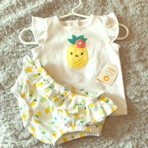 Gymboree shirt and diaper cover